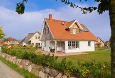 Ferienhaus RUHE-INSEL Groß Schwansee  - Ferienhaus Ruhe-Insel mit eingefriedetem Garten zum Spielen und Erholen