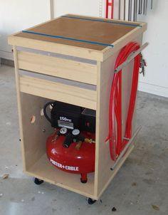 Compressor/Bench tool/Misc crap Cabinet