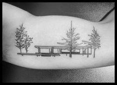 Galería de 118 impresionantes tatuajes de arquitectura - 15