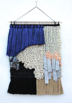 All Roads Midnight Weaving via Etsy #12makersofchristmas  #allroadsdesign  #allroadsmarket