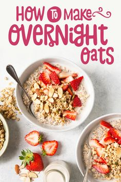 How To Make Overnight Oats (+ Recipes!) - Nature's Path