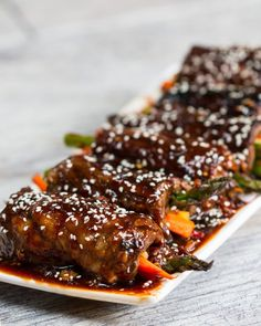 You Have To Make These Teriyaki Steak Roll-Ups This Weekend
