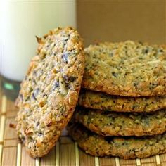 Chia & Hemp Seed Oatmeal Cookie