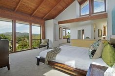 modern luxury - master bedroom