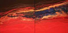 Nel rosso, tu. Massimo Dell'Armi #pittoricontemporanei