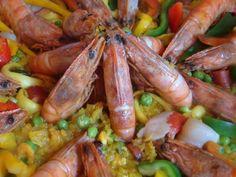 Paella Espanhola Mista