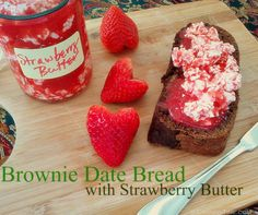 Strawberry Butter - Top your favorite Valentine's Day Treats with a sweet & sour spread - from Canned-time.com