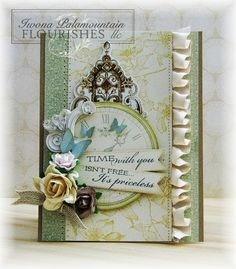 Time With You card by Iwona Palamountain (Random Acts of Creativity)