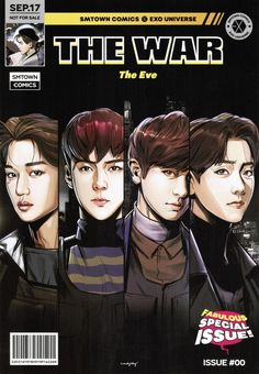 ♥♥♥♥♥ suho baekhyun chanyeol d.o kai sehun chen xiumin lay Kai, Exo Anime, Exo Album, Chanyeol Baekhyun, Exo Fan Art, The Power Of Music, Kpop Drawings, War Comics, Exo Memes