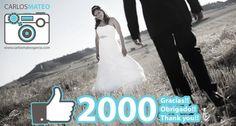 Hemos llegado a los 2000 likes en Facebook!! http://www.facebook.com/fotocarlosmateo  2000 Gracias!! 2000 Obrigado!! 2000 Thank you!!  www.carlosmateogarcia.com