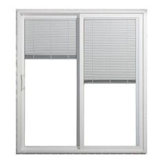 Sliding Glass Doors With Blinds Inside Them Photo