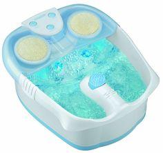 Waterfall Foot Spa Water Soak Feet Care Health Beauty Massage Bubbles Comfort #Conair