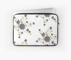 Protect your laptop with magic and sparkle - Starey Starey Stars by Jiggy Creationz Back To Black, Laptop Sleeves, Plush, Sparkle, Magic, Stars, Shop, Stuff To Buy, Sterne