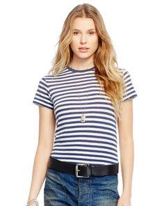 Striped Cotton Tee - Polo Ralph Lauren Short-Sleeve - RalphLauren.com