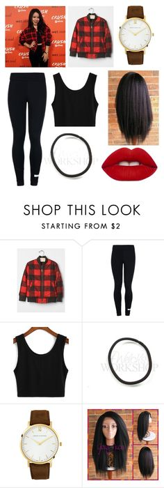 """Cierra Ramirez"" by mags07 ❤ liked on Polyvore featuring adidas, Larsson & Jennings and Lime Crime"