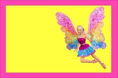 Imprimibles Barbie Fairytopia.