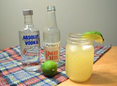 Mason Jar Moscow Mule | 25 Tasty Cocktails With Three Ingredients Or Less
