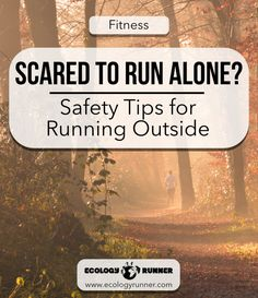 As runners and walkers we often spend time alone outdoors. While this is awesome in so many ways, there can also be a few hazards. Read our complete list of safety tips for running outside at ecologyrunner.com!