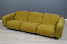 A rare Yrjö Kukkapuro prototype sofa 'Karamelli', 1967 Daybed, Bench, Sofa, Furniture, Design, Home Decor, Bed Couch, Settee, Decoration Home
