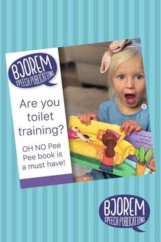 "Making ""potty talk"" functional and fun!Beautifully illustrated repetitive board book on a topic that all children love, pee-pee! Filled with functional consonant-vowel consonant-vowel words, you won't believe where Livi's puppy goes potty! This well-thought-out book is written by a speech-language pathologist with the acquisition of speech and language in mind. #bjoremspeech #jenniebjorem #childrensbooks #booksforspeechtherapy #pottytrainingbooks #pottytraining"