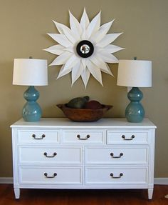I have an un-used vintage dresser - need to paint it white for pretty storage in my laundry / front entry / mudroom hall.