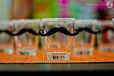 Mustache Shot Glasses by Kara's Party Ideas