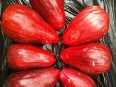 Jamaican Apples -just bought at the market: ...with notes extracted from our facebook fan page at facebook.com/myislandjamaica   Beverley: delicious  Lorna Moore: yummy..could bit into them right