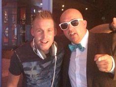 Met Joey Spaan alias DJ Matsoe Matsoe samen geld inzamelen voor Stichting ALS