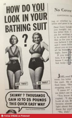 Found in a magazine from the 50's. Born in the wrong time it seems