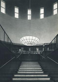 Erik Gunnar Asplund: City Library, Stockholm, 1918-28