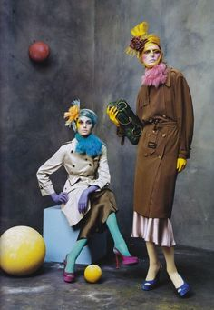 OH YES.  (US Vogue Magazine October 2003  Photography: Steven Meisel Fashion Editor: Camilla Nickerson)