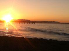 Early morning walk at Ventura beach ..