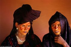 Class system: Tuareg women pictured in Niger. The Tuareg are divided into castes, with the...