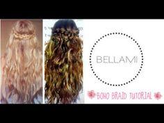 ▶ BELLAMI Hair: Bohemian Hairstyle - YouTube