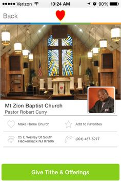 Mt Zion Baptist Church in Hackensack, New Jersey #GivelifyChurches