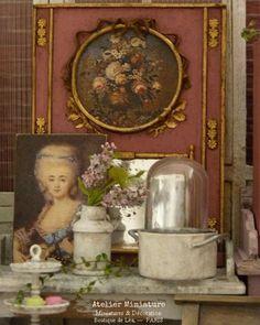 Atelier de Léa (@atelier.miniature) • Photos et vidéos Instagram Boutique, Dollhouses, Miniatures, Photos, Painting, Instagram, Little Cottages, Atelier, Accessories