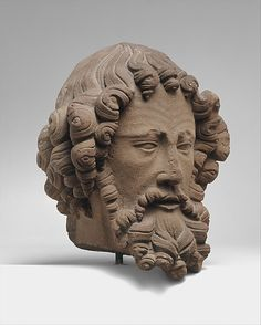 Head of an Apostle, ca. 1280–1300. The Metropolitan Museum of Art, New York. The Cloisters Collection, 2004 (2004.453) #mustache #movember