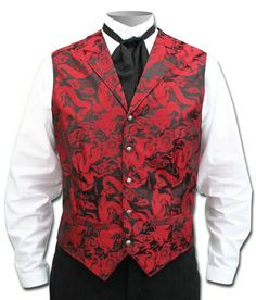209b005876f6 This vest has a stunning dragon design worked into the front. Its sharp  design combined