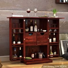 Create A Perfect Spot For Your Leisure Time At Home With Sophisticatedly Designed Barcabinets Bar Furniturebar Cabinetswet