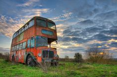 Abandoned Double Decker