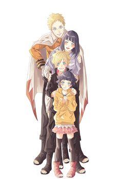 NARUTO, Uzumaki Boruto, Uzumaki Himawari, Hyuuga Hinata, Uzumaki Naruto