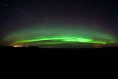 """Don't Mess with the ZoltanCredit: Zoltan KenwellZoltan Kenwell captured this image north of Edmonton, Alberta, Canada on April 1, 2010. He said: """"This is what the profile of the aurora belt looks like at my latitude. Soft and fluffy! A very different view than the lucky ones much closer to the north."""""""