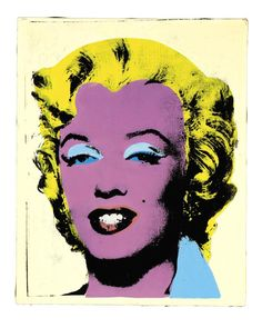 Get to Know Andy Warhol: Andy Warhol (American, Lemon Marilyn, Synthetic polymer, silkscreen inks and acrylic on canvas. 20 x 16 in. Andy Warhol Foundation for the Visual Arts. Andy Warhol Marilyn, Roy Lichtenstein Pop Art, Jasper Johns, Art Pop, Museum Of Contemporary Art, Modern Art, Richard Hamilton, Pin Up, National Gallery Of Art