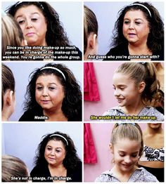 Dance moms moment :D . REMEMBER . ? . i was laughing so hard when i saw this on tv