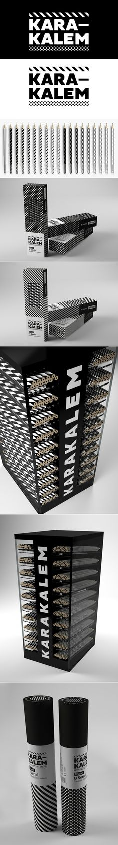 Student: Karakalem Drawing Pencils — The Dieline | Packaging & Branding Design & Innovation News