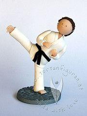 Taekwondo Figur