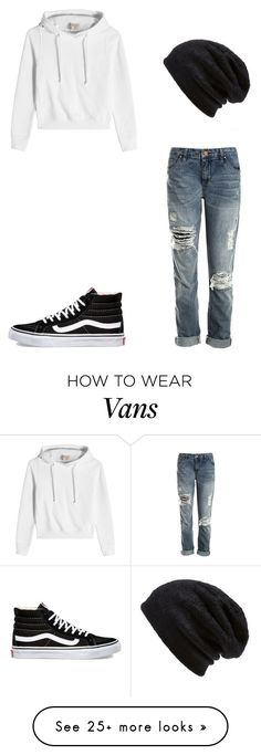 """""""Untitled #238"""" by lockwoodzaki on Polyvore featuring Sans Souci, Vans, Vetements and Barefoot Dreams"""
