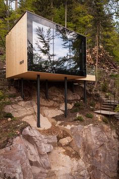 Tara : Miramonti Boutique Hotel – ArchiDesignClub by MUUUZ – Architecture & Design Tiny House Cabin, Tiny House Design, Modern House Design, Tiny House Hotel, Modern Tree House, Container Home Designs, Miramonti Boutique Hotel, Architecture Design, Hotel Architecture