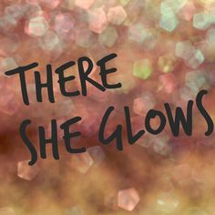 We have the name, now we need the logo & website done!!! #theresheglows