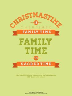 lds family time quotes - Google Search